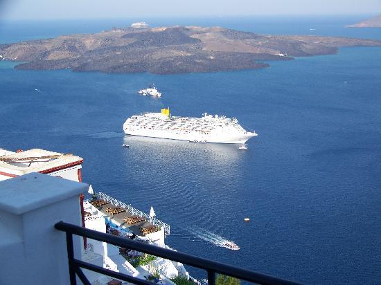Villa Renos: View from balcony