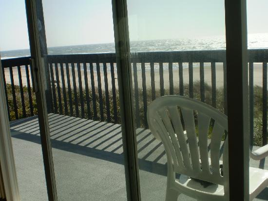 Best Western Plus Lincoln Sands Oceanfront Suites: Huge balcony