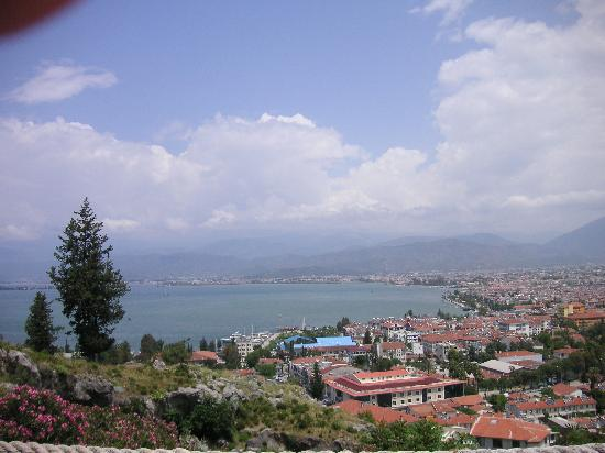 Downtown Fethiye: Another view from Kale