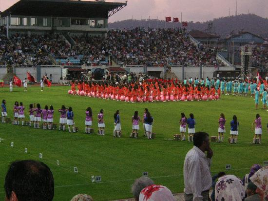 Downtown Fethiye: Sports day in the Stadium