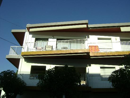 Apartamentos Marfina: our balcony
