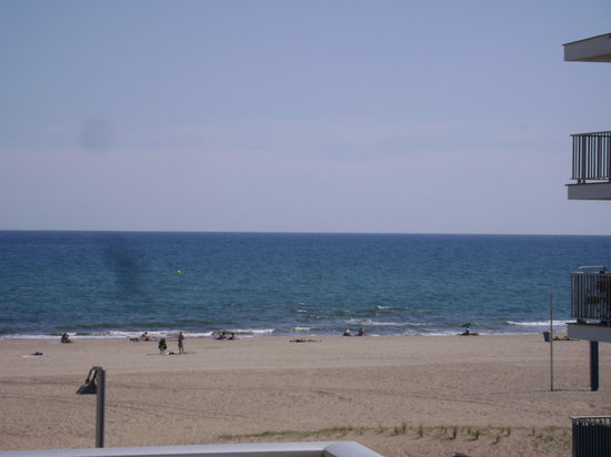 Castelldefels, İspanya: view from our balcony