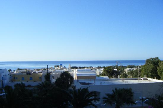 Hotel Artemis Perissa: View from our balcony