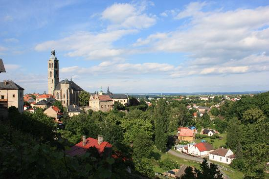Hotel Opat: city view (highest church tower in bohemia)