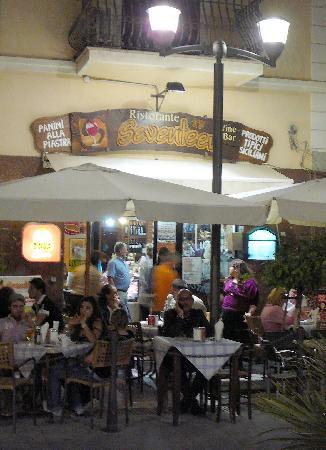 B&B Le Terrazze: Our favourite restaurant in Capo d'Orlando