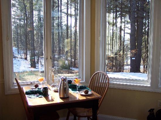 Stone Hill Inn : The breakfast room