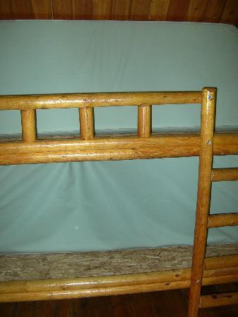 Myrtle Beach KOA Kampground: 2 sets of bunk beds in second bedroom