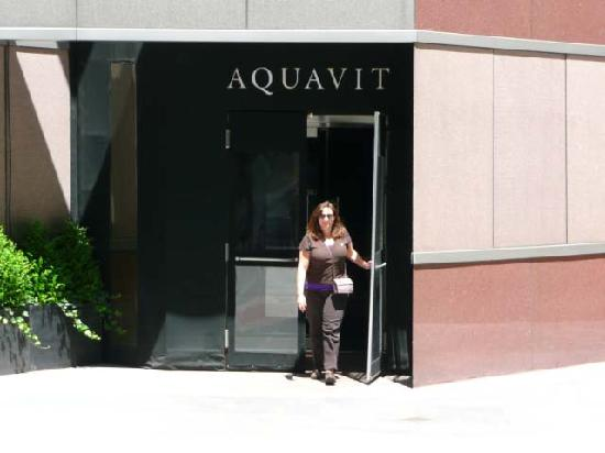 Aquavit : Exiting with a full stomach, and a lighter wallet