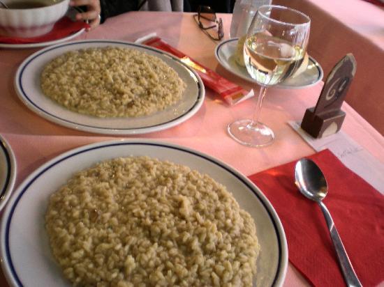S. Aponal - Restorante 1251 Pizzeria : ポルチーニのリゾット。量が多いです。
