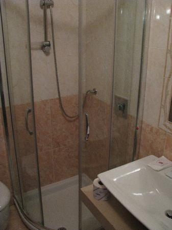 Hotel Brianza: Bathroom/shower