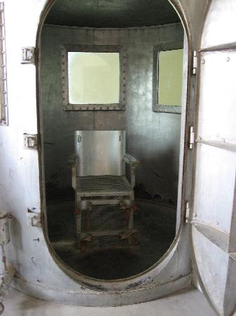 Wyoming Frontier Prison: the gas chamber