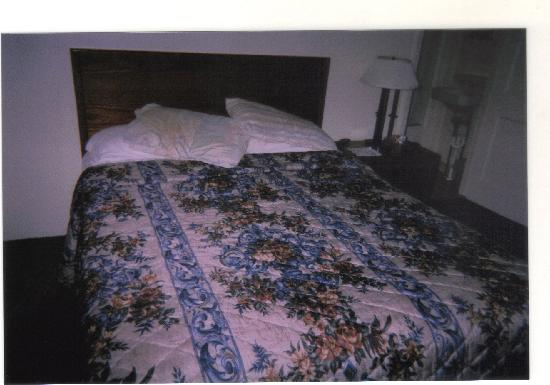 The Clarketon Motel: Our bed