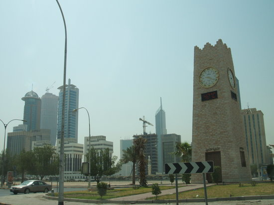 42 degrees at 9.20a.m. Kuwait City