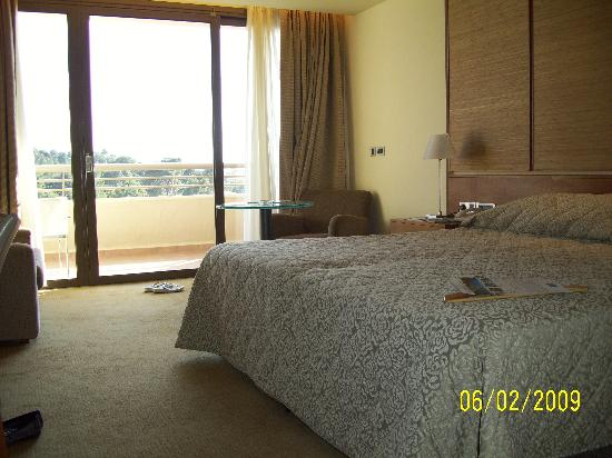 Porto Carras - Meliton: The room  Marina View