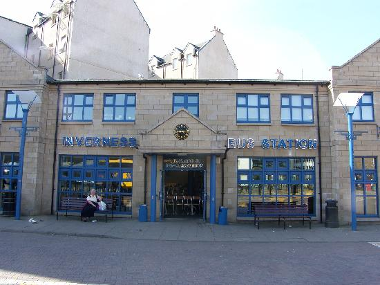 Bannerman Bed and Breakfast : Inverness Bus Station