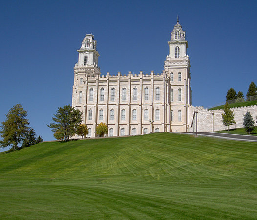 Temple View Lodge: Manti Temple
