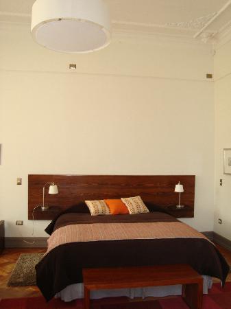 Casa von Moltke: big bed