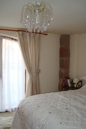 Rock House Farm Holiday Cottages: Double room in Badger cottage