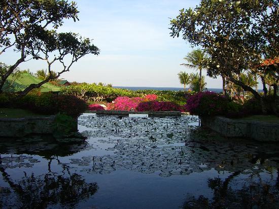 แกรนด์ไฮแอทบาหลี: ため息がでるホテルからのながめ