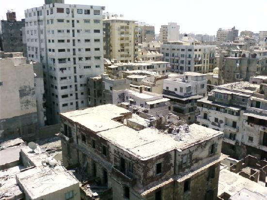 Mecca Hotel : View of buildings behind the hotel