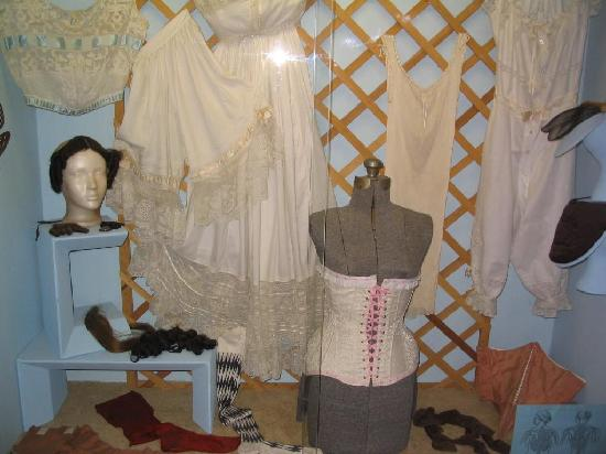 Historical Center for Southeast New Mexico: Victorian underthings