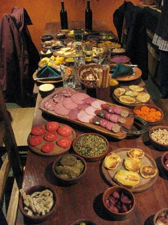Cava de Cano: Appetizer (first course)
