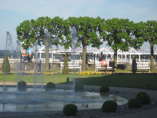 Sofitel Grand Sopot: view front the spa