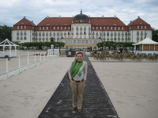 Sofitel Grand Sopot : view from the hotel