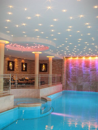 Genussdorf Gmachl - Hotel & Spa: We loved the color changing twinkle lights!