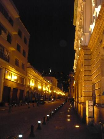 "Hostal Isla Isabela: ""Downtown of Quito at night"""