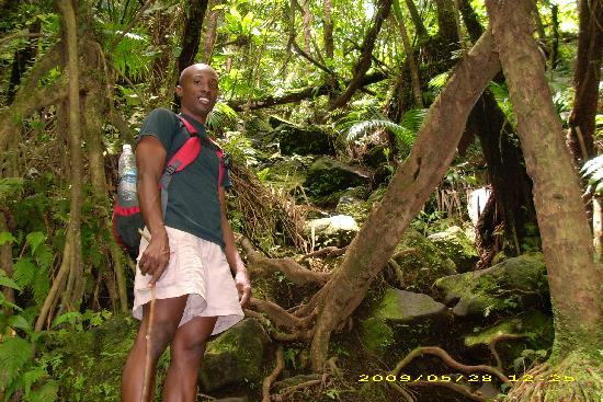 Sugar Bay Club: Royston Stevens hike to top of volcano
