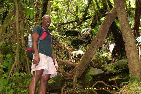 شوجر باي كلوب سويتس آند هوتل: Royston Stevens hike to top of volcano
