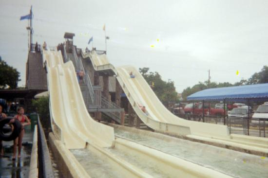 Schlitterbahn New Braunfels Waterpark : One of the slides - too big for my son.