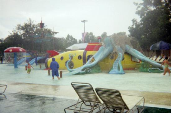 Schlitterbahn Waterpark New Braunfels: One of the children's play areas