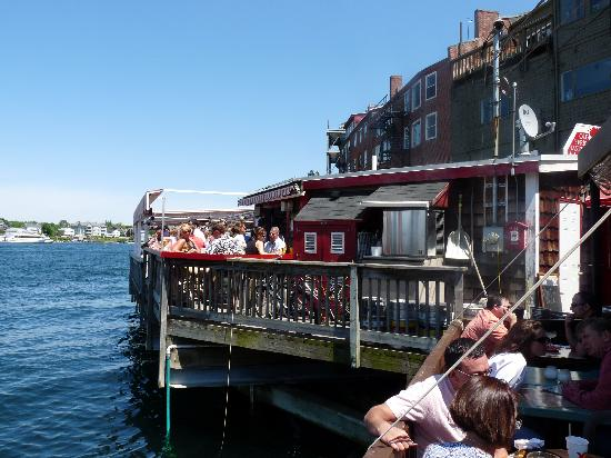 Old Ferry Landing deck - Picture of Old Ferry Landing, Portsmouth - TripAdvisor