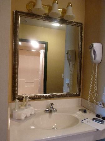 Holiday Inn Express Durham: Holiday Inn Express - Bathroom