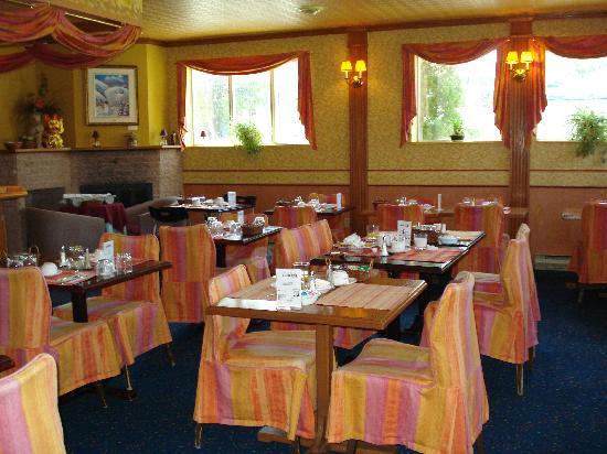 Auberge du Grand Lac: le restaurant où sont offets les déjeuners