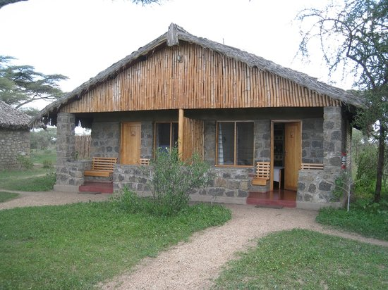 Ndutu Safari Lodge: Outside the rooms