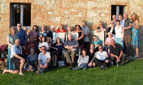 Podere Monti house party