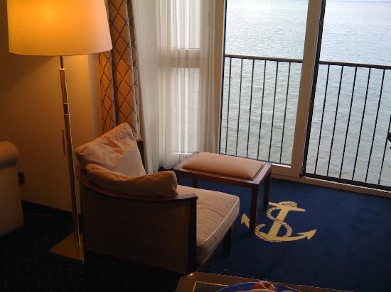Hotel Bad Horn : Blick aus dem Zimmer auf den Bodensee