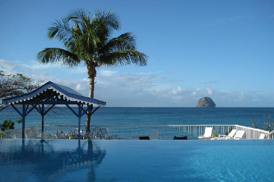 Le Diamant, Martinique: piscine de la résidence
