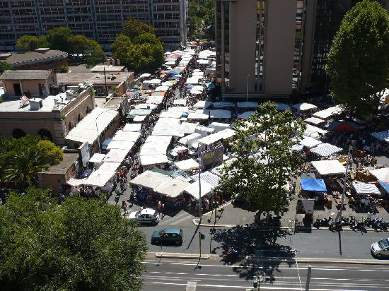 View of the porta portese flea market from our room - Porta portese roma case ...