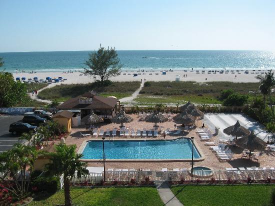 Howard Johnson Resort Hotel By Wyndham St Pete Beach Fl View From Balcony
