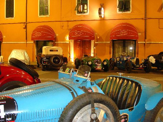 Locanda Modigliani B&B: La Mille Miglia, proprio sotto casa