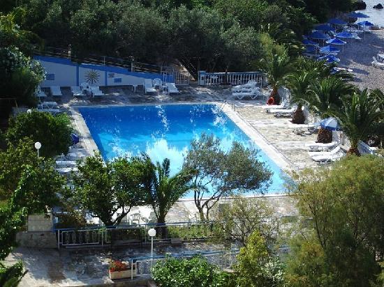 Hotel Pappas : piscine de l'hotel