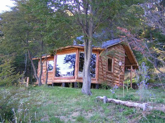 Mallin Colorado Ecolodge: Our cabana