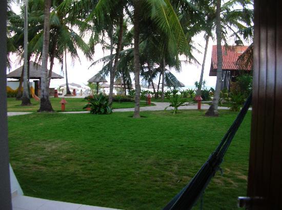 Serrambi Resort: La spiaggia dalla mia camera
