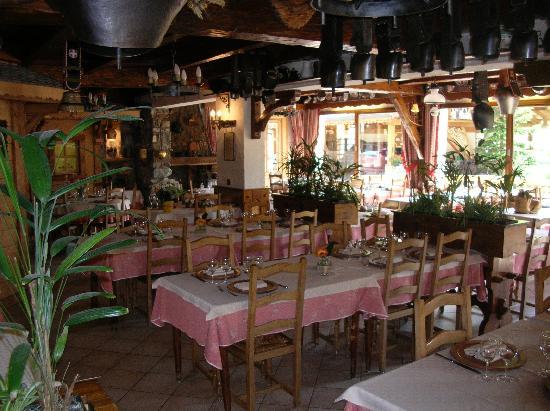 L'Ensoleille: vue du restaurant