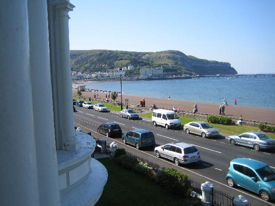 The Kensington Hotel: View from Bedroom with Orme to left