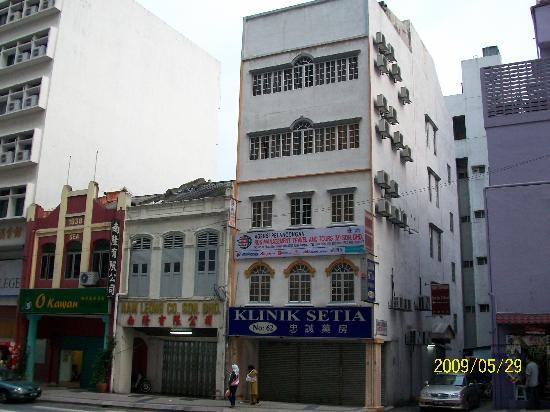 Serai Inn: 上の4層です